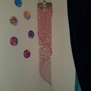 Accessories - Pink chandelier